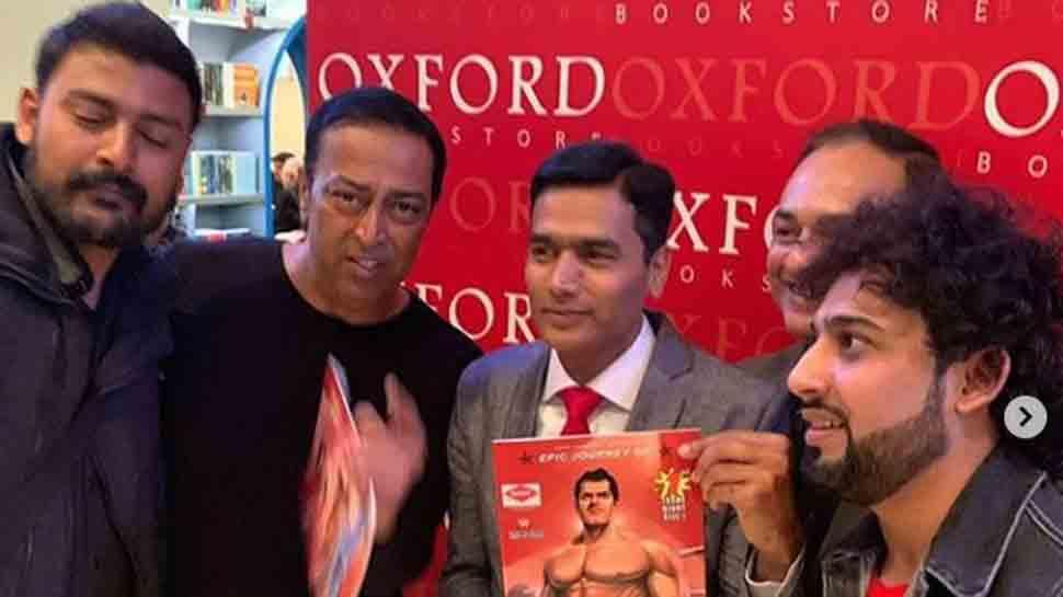 Vindu Dara Singh launches comic book on legendary wrestler Dara Singh