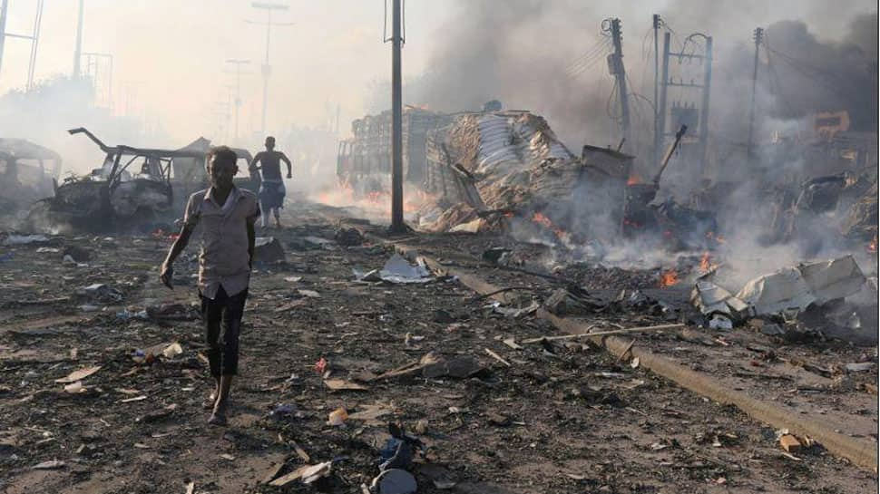 Huge blast heard in Somali capital Mogadishu
