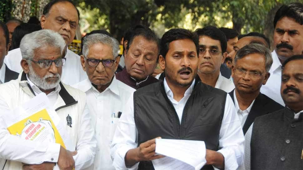 Jagan Mohan Reddy calls on Chief Election Commissioner, alleges TDP govt misusing state machinery