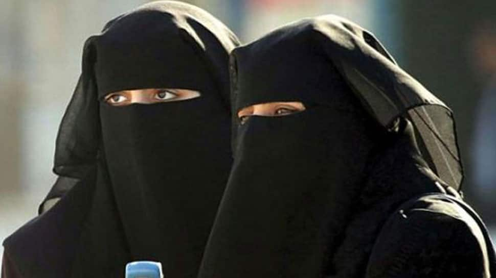 Opposition protests against removal of burqa, black dupattas in Jharkhand