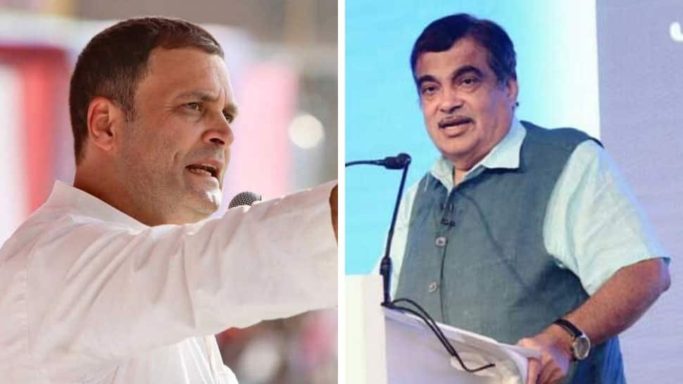 That's the difference between ours and Congress' DNA: Gadkari replies to Rahul's 'compliment'