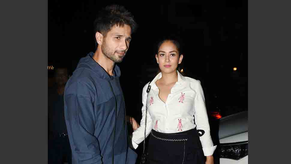 Shahid Kapoor looks dapper as ever as he steps out for a dinner date with Mira Rajput — Pics