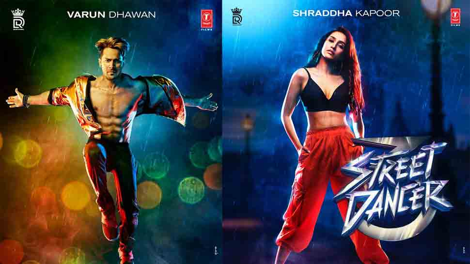 Street Dancer first posters out: Varun Dhawan, Shraddha Kapoor impress with their super-cool looks