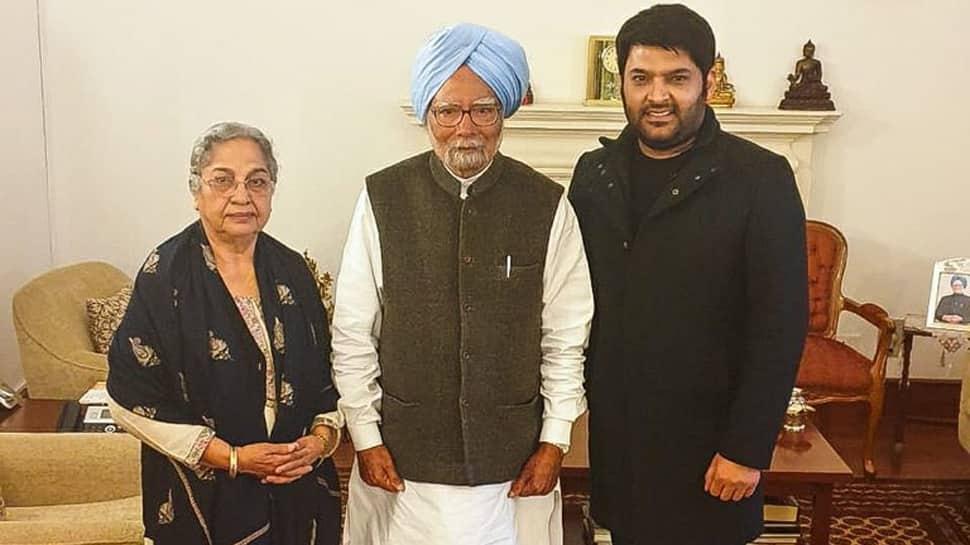 When Kapil Sharma met former prime minister Dr Manmohan Singh and wife Gursharan Kaur—See pics