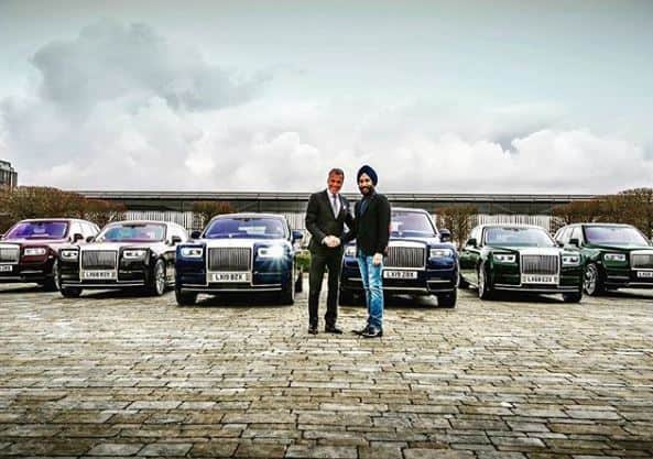 British Sikh, famous for matching Rolls Royce with turbans, goes viral with new fleet