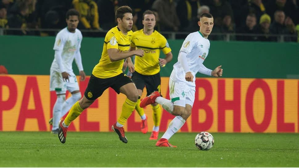 Borussia Dortmund lose German Cup shootout to Werder Bremen after 3-3 thriller