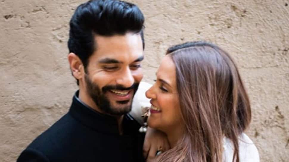 Neha Dhupia's love-filled post on husband Angad Bedi's birthday is unmissable!