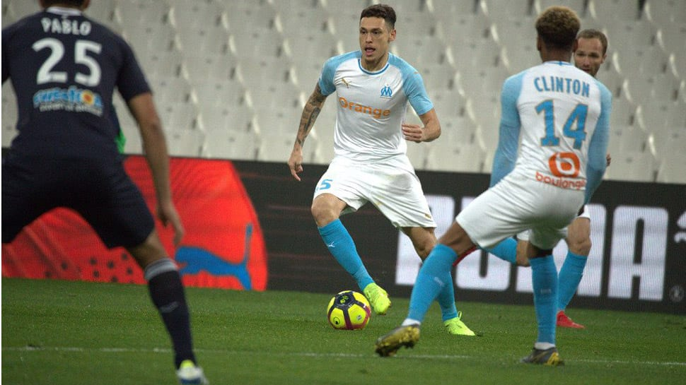 Ligue 1: Marseille beat 10-man Bordeaux in empty Stade Velodrome
