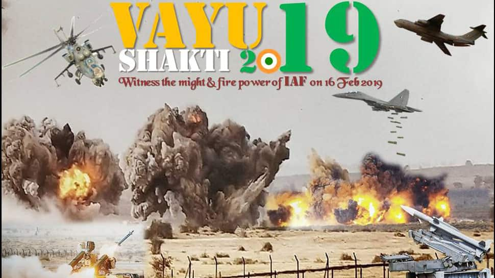 Vayushakti 2019: IAF gears up for demonstration exercise in Rajasthan