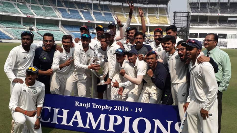 Vidarbha claim 2nd successive Ranji title, beat Saurashtra in final by 78 runs
