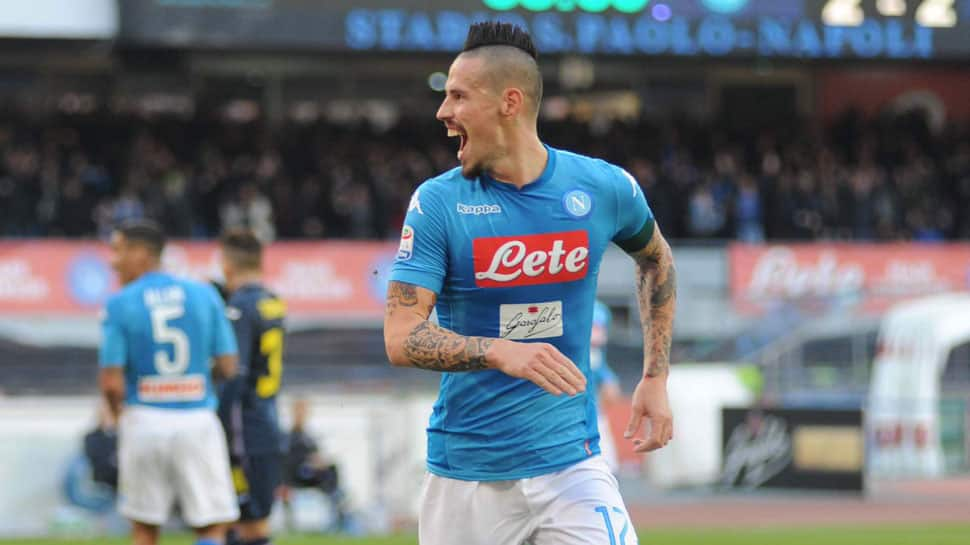 Napoli say midfielder Marek Hamsik's move to China delayed over payment issue