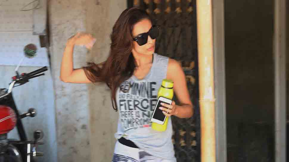 Malaika Arora snapped post her workout session — Pics