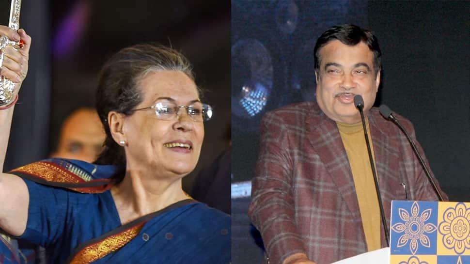 Sonia Gandhi appreciates Nitin Gadkari's work as Transport Minister