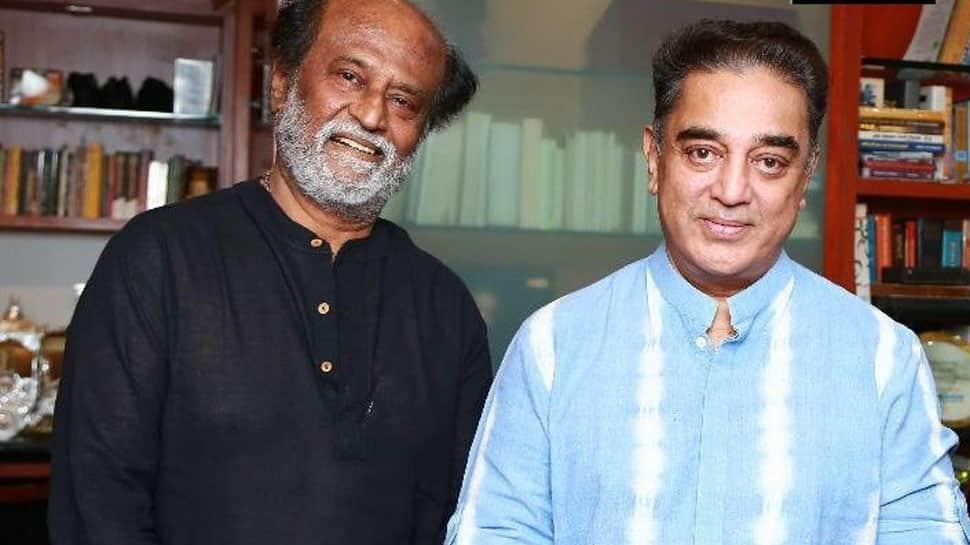 Rajnikanth meets Kamal Haasan, fuels political speculations