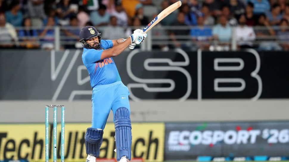 Rohit Sharma overtakes Martin Guptill as leading run scorer in T20Is