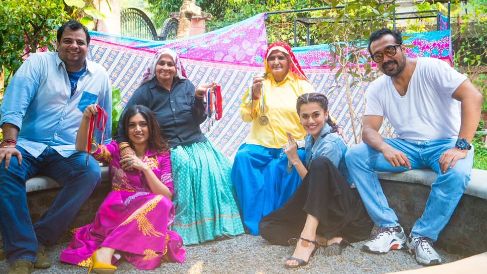Taapsee, Bhumi to play world's oldest sharpshooters