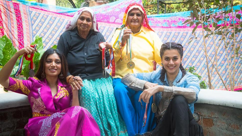 Taapsee Pannu, Bhumi Pednekars Film Titled Saand Ki -1336