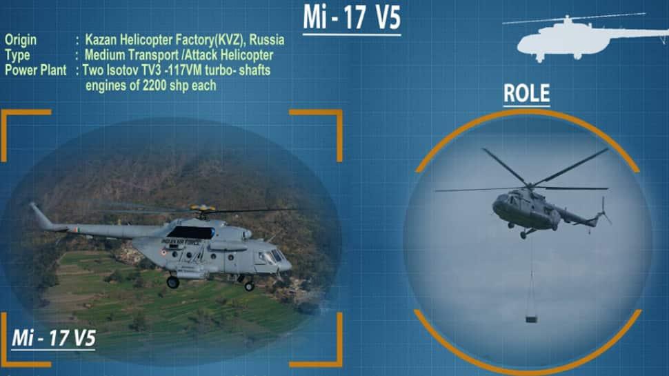 Mi-17 V5 medium-lift attack helicopter to showcase firepower at IAF's Vayushakti 2019