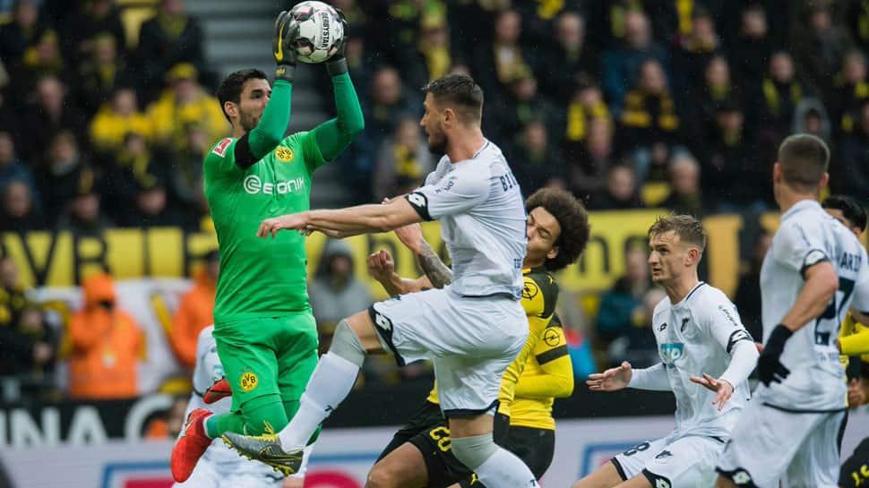 Borussia Dortmund waste three-goal lead to draw 3-3 with Hoffenheim