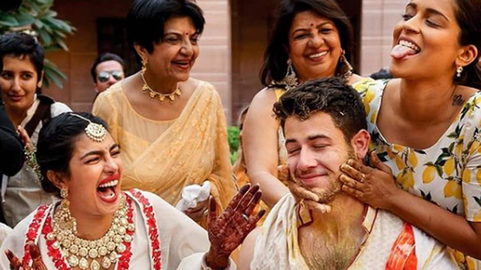 Lilly Singh shares unseen pics from Priyanka Chopra and Nick Jonas' haldi ceremony and we can't help but smile!