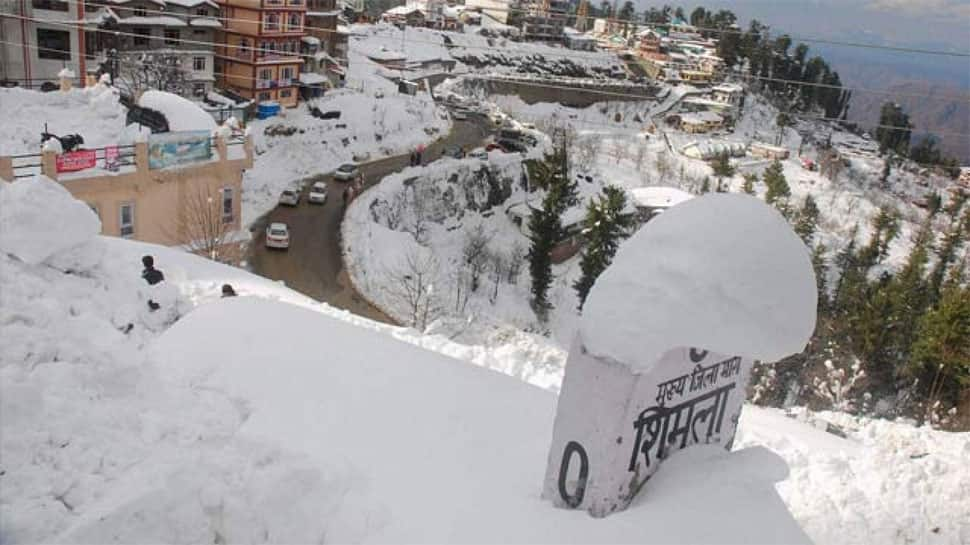 Shimla schools to remain closed due to heavy snowfall, more snow likely in Himachal Pradesh next week