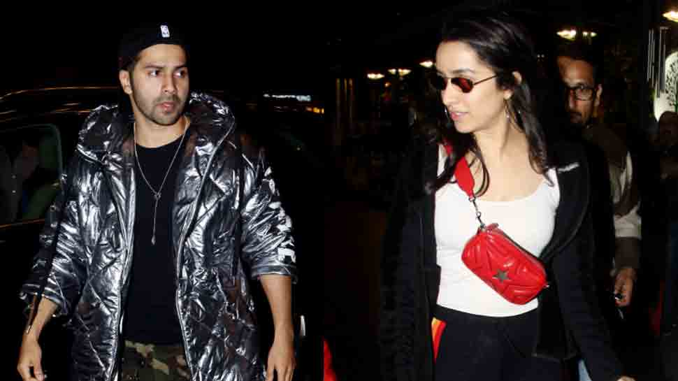 Varun Dhawan flies to London with 'Street Dancer' co-star Shraddha Kapoor — Pics