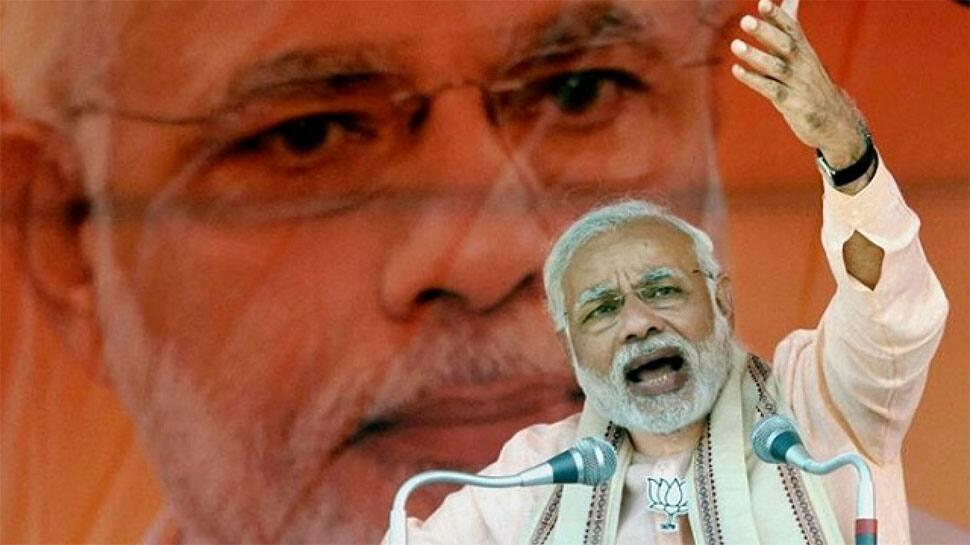 PM Narendra Modi serves 3 billionth meal to underprivileged children in Vrindavan