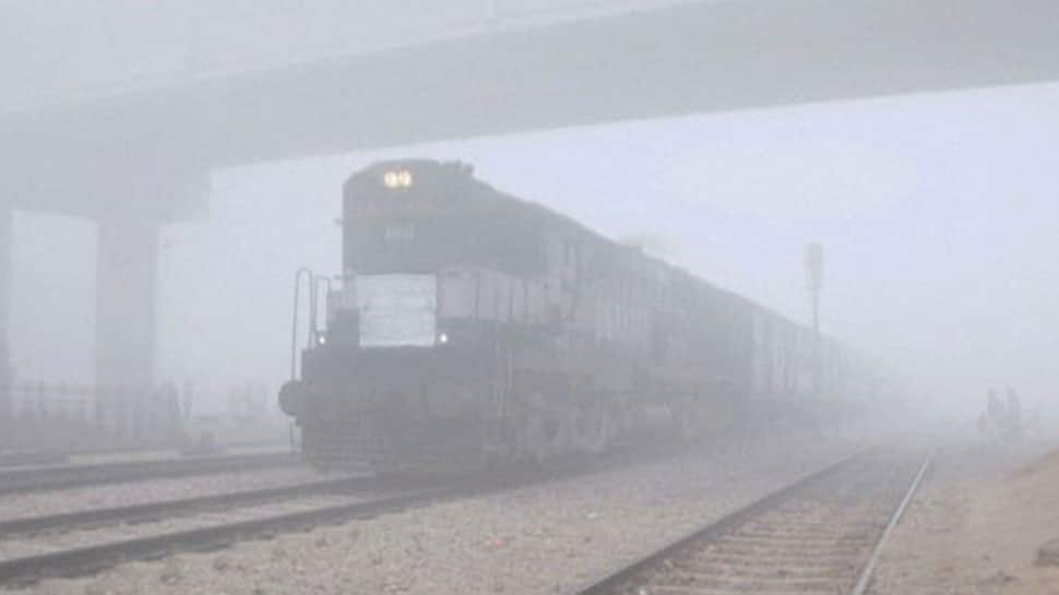 Delhi continues to reel under cold; 18 trains running late due to fog