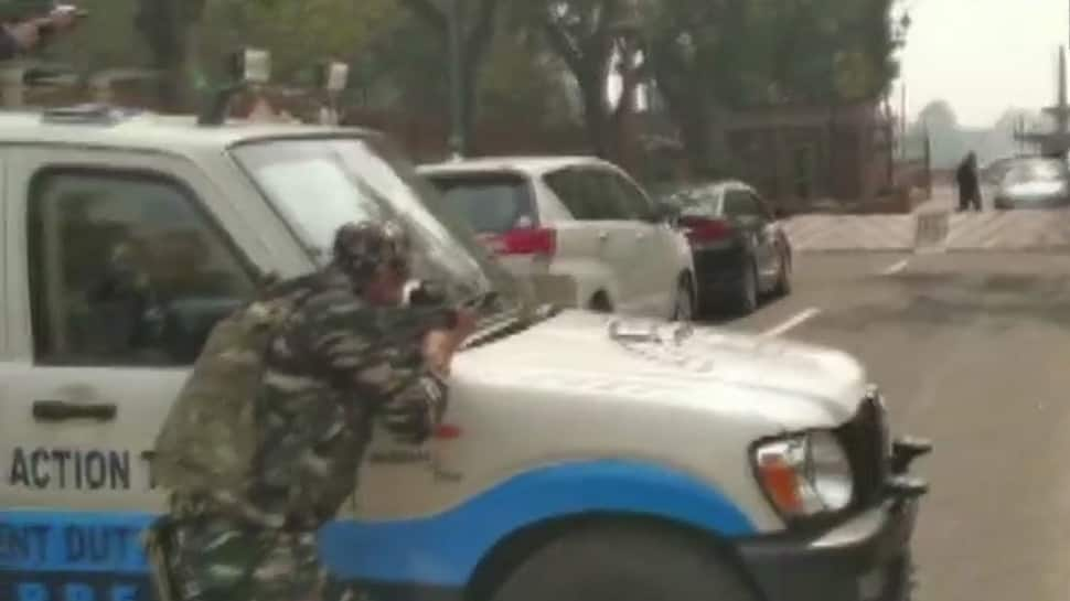 Security scare at Parliament as Congress' Lok Sabha MP's car tries to enter from exit gate