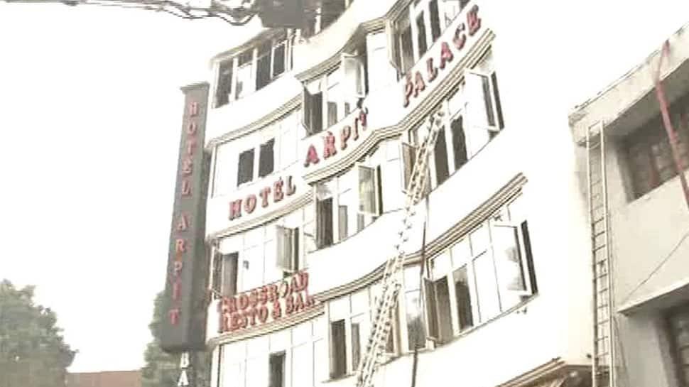 3 from one family die in Delhi's Karol Bagh hotel blaze