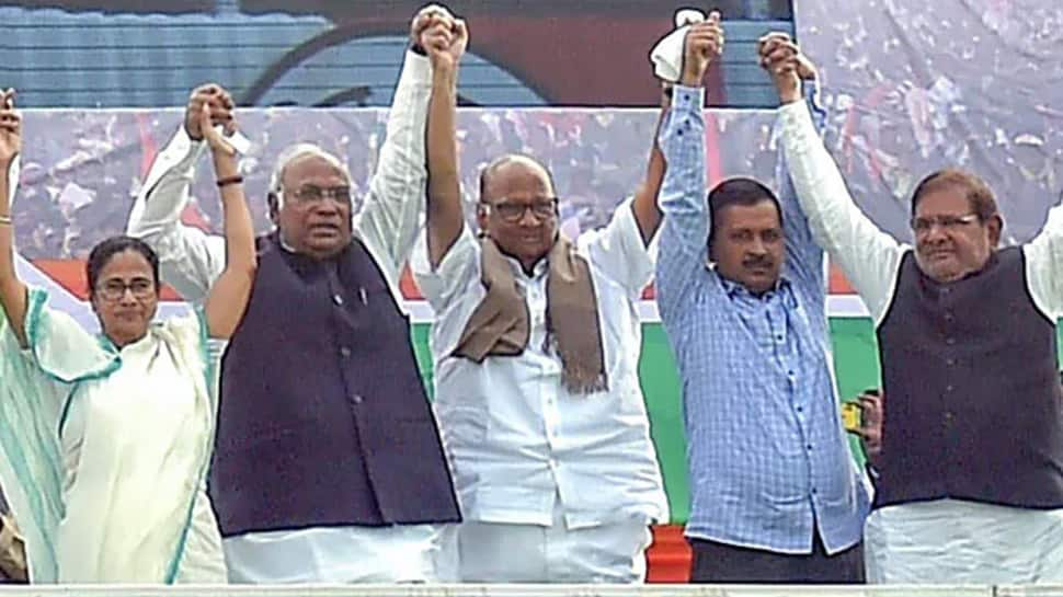 At Arvind Kejriwal's mega opposition rally in Delhi today, Opposition leaders to take on the BJP
