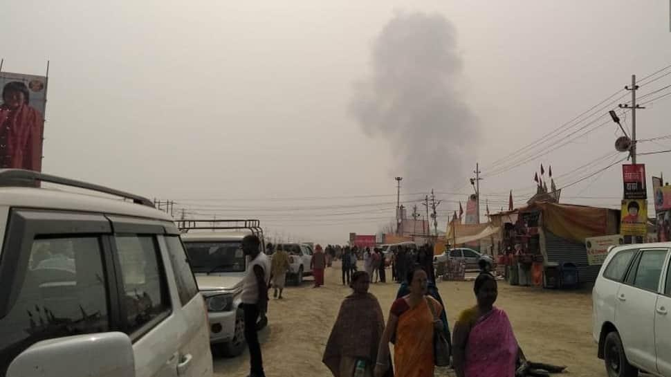 Fire at Bihar Governor Lalji Tandon's tent in Kumbh mela; mobile, watch set ablaze