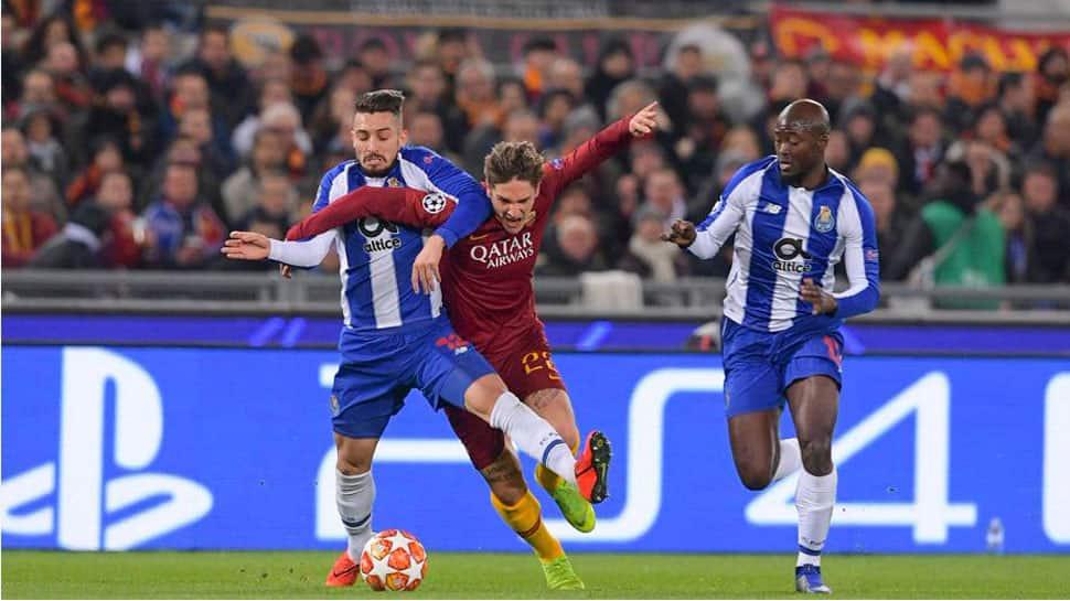 AS Roma defeat 2-1 Porto in UEFA Champions League clash