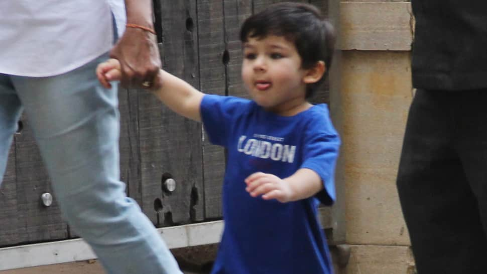 Taimur Ali Khan and Kiara Advani run together but Tim stops midway - Watch viral video