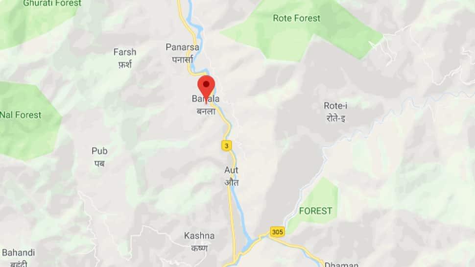 NH-3 blocked after landslide in Himachal Pradesh's Banala