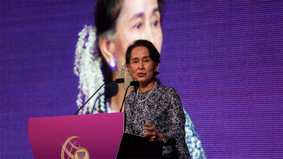 New statue of Aung San Suu Kyi's father irks ethnic minorities in Myanmar