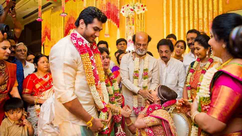 Rajinikanth shares a heartfelt note thanking guests for attending daughter Soundarya's wedding