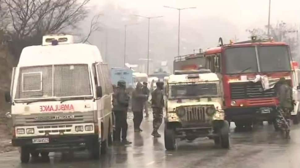 Mehbooba Mufti and Omar Abdullah condemn attack on CRPF convoy
