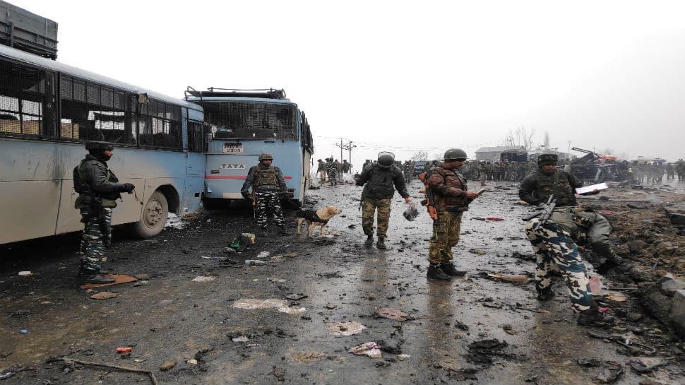 39 CRPF soldiers martyred in Jaish-e-Mohammed suicide bombing in J&K's Awantipora