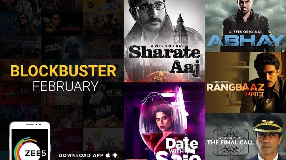 ZEE5 announces Blockbuster February; unveils star-studded Originals