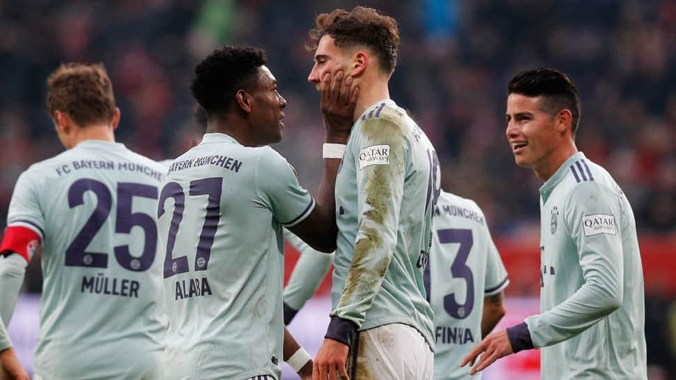 Bundesliga: Kingsley Coman steers Bayern Munich to 3-2 comeback win at Augsburg