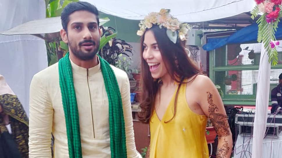 Prateik Babbar trolled for sharing a topless picture with wife on Instagram