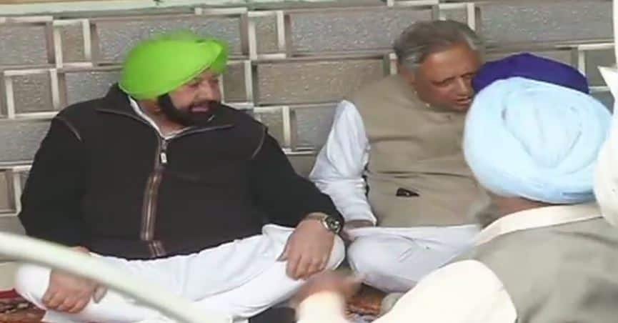 Punjab CM Amarinder Singh meets family of martyred CRPF constable, announces pension for parents