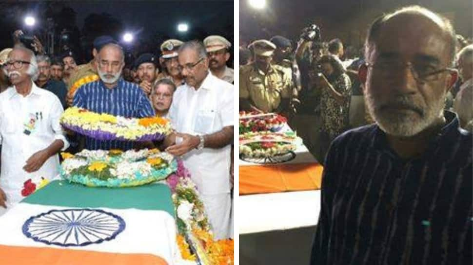 Amid row over 'selfie' at CRPF jawan's funeral, Union Minister KJ Alphons lodges complaint with Kerala DGP