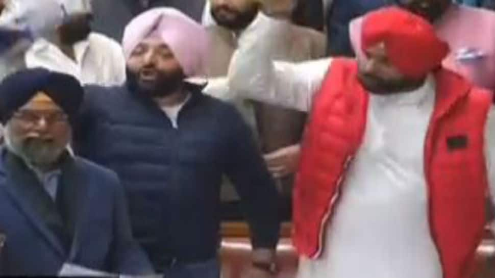 'Sack Navjot Sidhu': Uproar in Punjab Assembly after minister's remark on Pulwama attack