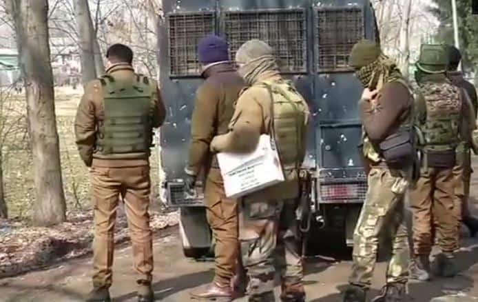 Pulwama encounter ends after 18 hours; three JeM terrorists killed, four soldiers, one policeman martyred