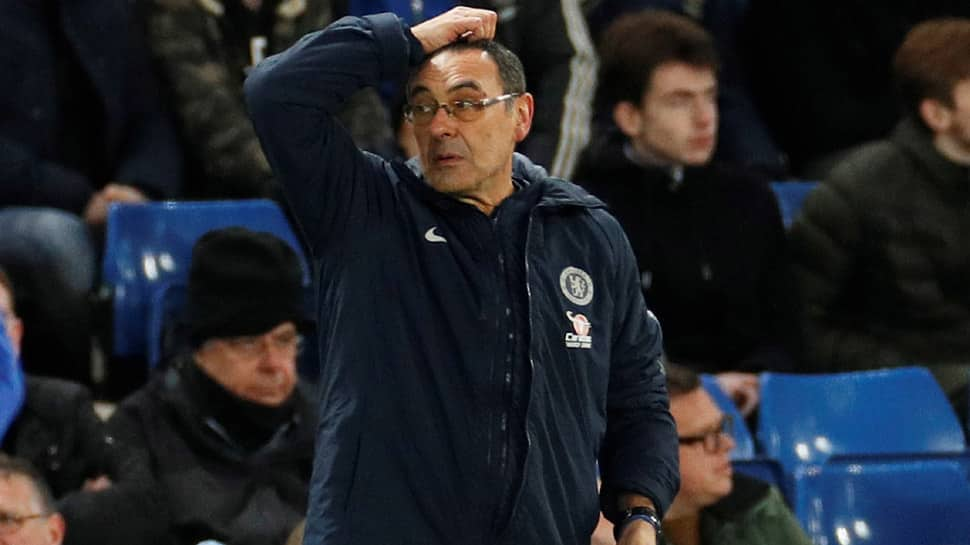 Maurizio Sarri feels the heat as Chelsea fans turn against the Italian coach