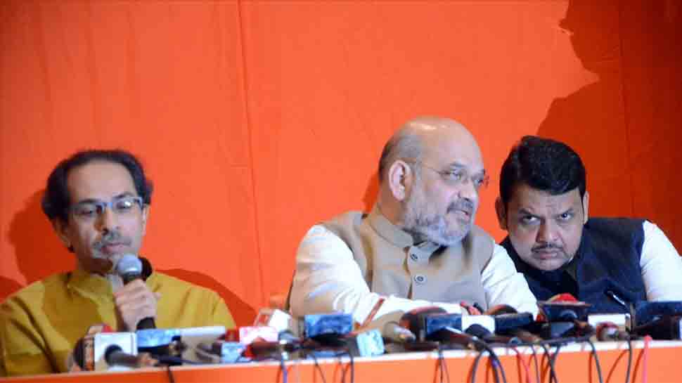 Shiv Sena-BJP tie-up is unholy, will benefit grand alliance: Congress
