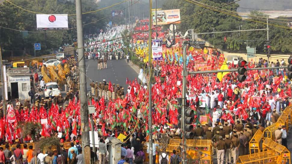 Maharashtra: Kisan long march begins Wednesday; 50,000 farmers to march to Mumbai