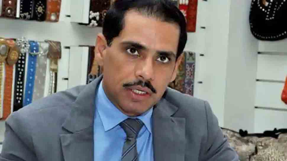Robert Vadra appears before ED in money laundering case probe